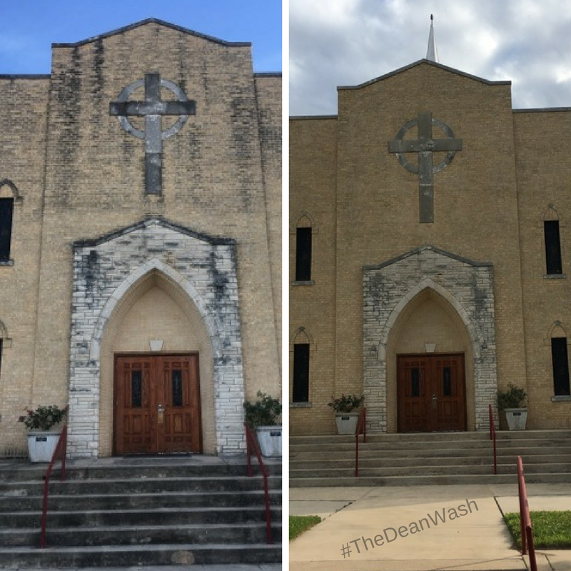 church pressure washing dallas fort worth