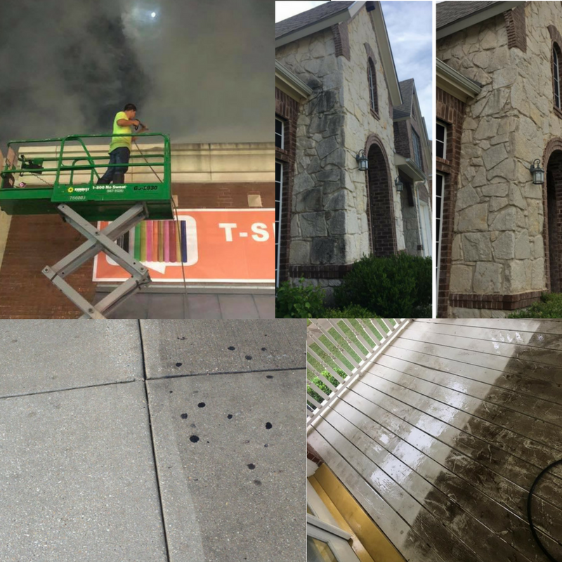 dallas pressure washing